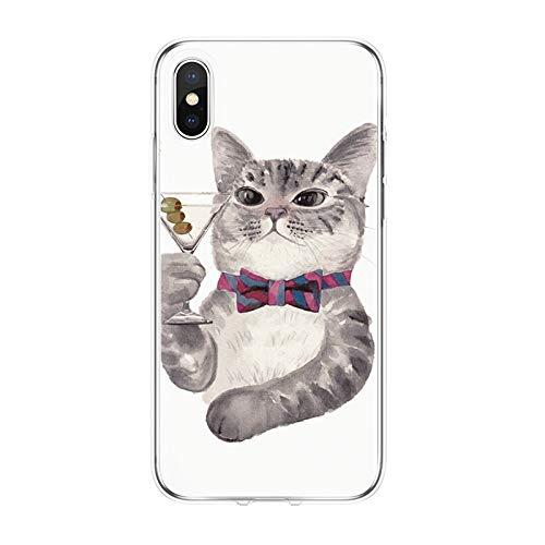 Pig Weiche TPU Telefonkasten Für iPhone X 4 4 S 5 5 S 5C Se 6 6 S 7 8 Plus Rückseitige Abdeckung Für Huawei P8 P9 P10 P20 Pro Lite 2017 Fundas ()