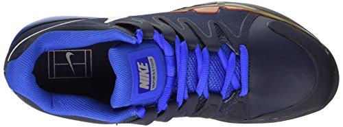 Nike Zoom Vapor 9.5 Tour Clay, Chaussures de Tennis homme Bleu (Azul (Obsdn / White-Hypr Cblt-Mtllc Sl)