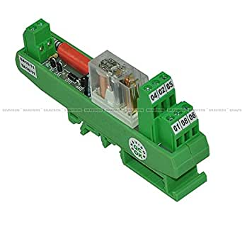 Shavison Relay Module AS431-230VAC-OE, 2C/O, 1 Channel, 230VAC Coil, OEN Relay, Directly Soldered Relay, Isolated Coils, Contact Rating : 28VDC/230VAC, 5A