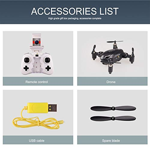 FPV RC drone, Mini Wifi UAV 4 ejes 4CH Quadcopter
