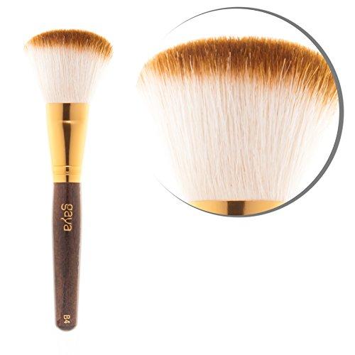 Gaya Cosmetics, Konturpinsel für professionelles Make-up - B4 Vegan, dauerhafte synthetische...