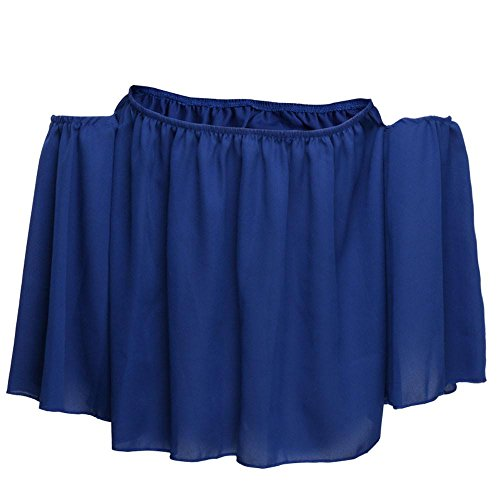 Tefamore Donne Manica Lunga Pullover T Shirt Off Spalla Casual Camicetta Blu