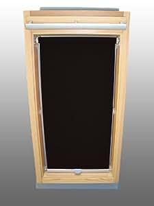 sichtschutzrollo rollo f r velux rhl ep ggl gpl ghl gtl schwarz gr e 104 k che. Black Bedroom Furniture Sets. Home Design Ideas