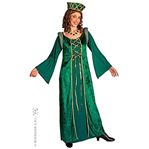 WIDMANN Desconocido Disfraz Medieval de Eleonora Mujer - Talla XXL