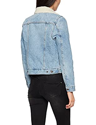 Levi's Women's Original Sherpa Trucker Denim Jacket