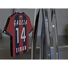 Imán para frigorífico con diseño de camiseta de fútbol de la primera división de la Liga Española, material acrílico, personalizable, plástico, Sd Eibar Football Fridge Magnet