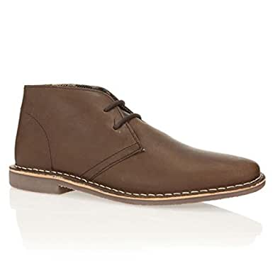 ANAPOLD Bottines Cuir Ernest Homme