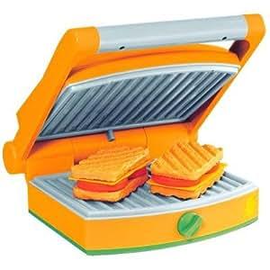 Machine à panini et gaufres