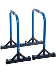 Kitechildhrrd Dip Barren Fitness Parallettes Push Up Stand Bar Dip Station Dip Bar bis 150 kg belastbar