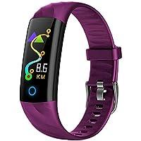 Sport Fitness Uhr,Miya Wasserdicht IP68 Fitness Trackers Farbbildschirm Aktivitätstracker Fitness Uhr Smartwatch,Pulsuhren,Schrittzähler für Damen Herren Anruf Beachten für iPhone Android