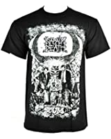 Napalm Death Scum Print T Shirt (Black)