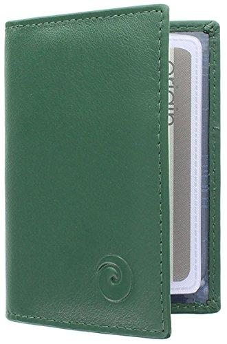 Hide and Sleek ,  Unisex Kreditkartenhülle Gr. Small, grün -