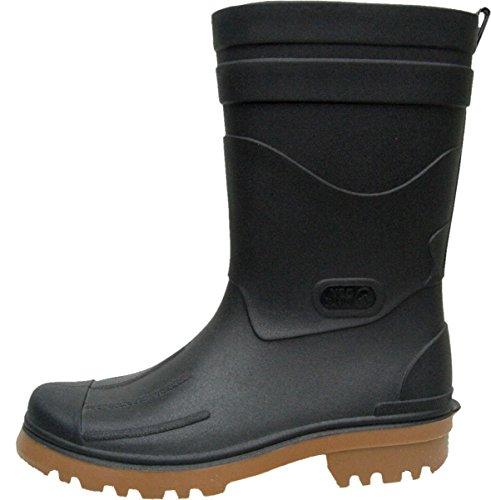 BOCKSTIEGEL® DIRK Uomo - Stivali di gomma di alta qualità (Taglie: 40-48), Colori:Black/Sand;Dimensioni:42