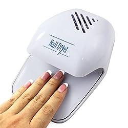 Portable Hand Finger Toe Nail Art Polish Paints Dryer Blower Mini Tool