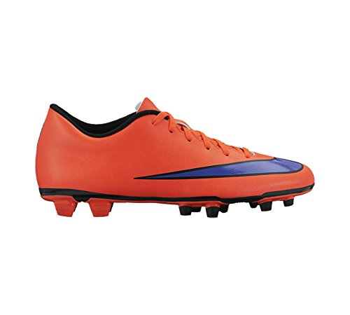 Nike Mercurial Vortex 2 Fg, Chaussures de football homme Bright Crimson/Persian Violet
