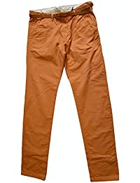 Scotch & Soda Stuart 1304-07.80003 Slim fit Herren Chino Hose orange