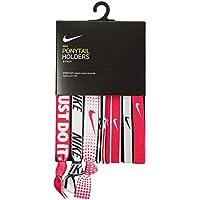 Nike Elastici Mixed Ponytail Sport Swoosh 9PK Pacco 9 Pezzi Lega Capelli  Coda Di Cavallo ( 072dda024cd9