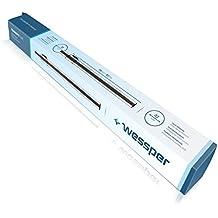 ✧WESSPER® Tubo telescópico para aspirador PHILIPS AQUATRIO PRO (Ø 32/32mm, plata)