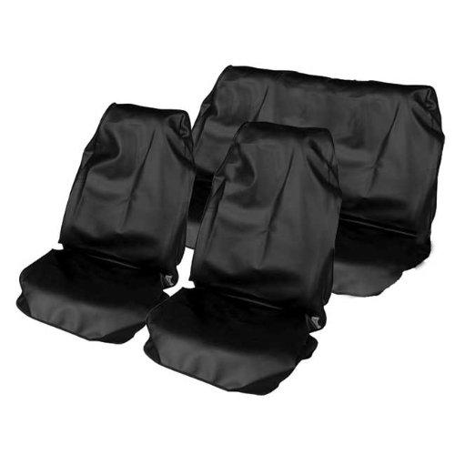 Schwarz Sitzbezüge Wasserdicht Protector Set Honda Insight - Auto Insight Honda Sitzbezüge