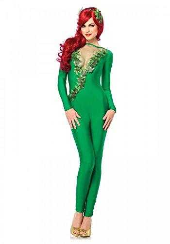tüm Overall Grün von Leg Avenue Gotham Wald-Elfe Catsuit Karneval Verkleidung, Größe:M (Ivy Kostüm Batman)
