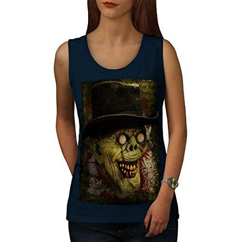 Gentleman Tot Mann Zombie Monster Hut Damen S2XL Muskelshirt ...