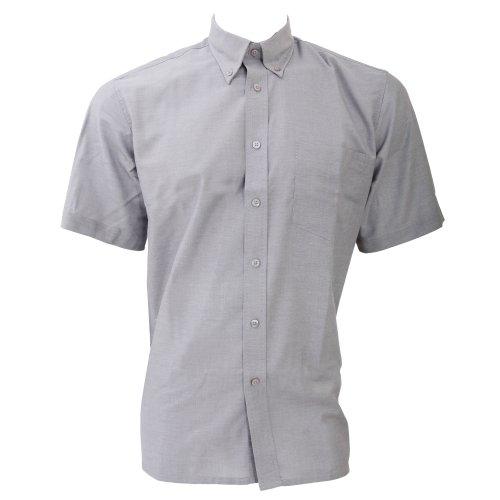 Dickies Oxford Hemd für Männer, kurzarm Weiß