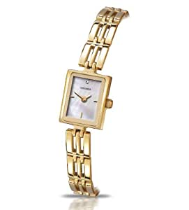 Sekonda Women's Quartz Watch with Mother of Pearl Dial Analogue Display and Gold Bracelet 4377.71