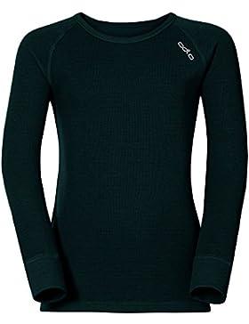 Odlo, Jersey de Esquí para Infantil, Negro, 128 cm (8 años)