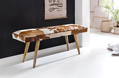 KadimaDesign Asiento Dentro 120x40x52cm Genuina Piel