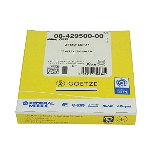 Goetze Engine 08-429500-00 Segments de pistons
