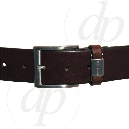 HUGO-BOSS-NEU-echt-Herren-Grtel-CONNIO-SCHWARZ-Men-Belt