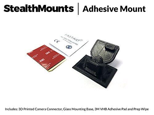 stealthmounts Low Profil selbstklebend Halterung für Motorola MDC100–3dprinted Neat Dash Cam Stealth Halterung für. Autokameras