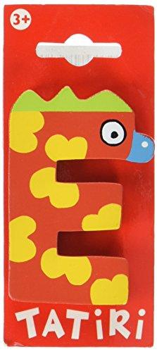 """Tatiri 72014 Holzbuchstabe""""crazy bird - E"""", 7 cm"""