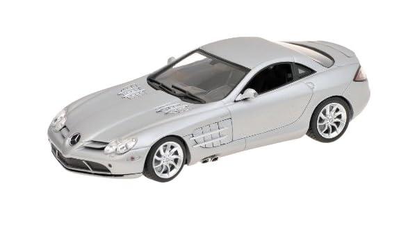 wonderful modelcar MERCEDES-BENZ SLR MCLAREN ROADSTER 2008 silver scale 1//43