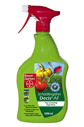 Bayer Garten Decis Schädlingsfrei AF Insektenabwehr draußen, Gelb, 1 L