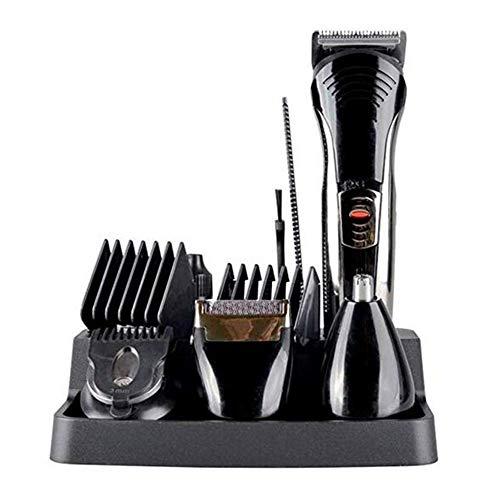AZWE 7-en-1 multifuncional recargable aseo barba afeitadora