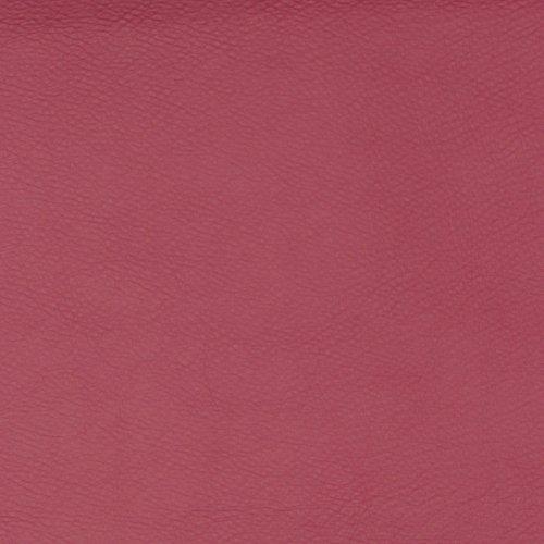 Cherry Küche Stuhl (Kunstleder Cayenne Glattleder Lederimitat Optik Meterware Polsterstoff Bezugstoff 35 - Cherry)