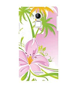 printtech Floral Pattern Back Case Cover for Coolpad Note 3 Lite Dual SIM with dual-SIM card slots
