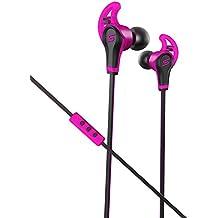 SMS Audio SMS-EB-SPRT - Auriculares (Intraaural, Dentro de oído, 1 cm, Alámbrico, Negro, Rosa, IPX4)