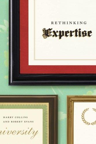 Rethinking Expertise por Harry Collins