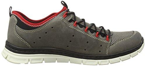Rieker B4883/46, Sneakers Basses Homme - Gris - Gris, 40 EU