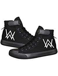 Unisex Alan Walker Spring Autumn Leisure Shoes for men and women High shoes Lacing Sports Shoes
