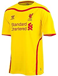 Warrior Mens Liverpool Away Football Shirt 2014 2015 Short Sleeve Crew Neck