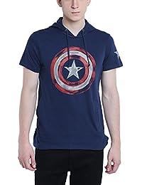 Captain America Young Men Dress Blue Color Sweatshirt