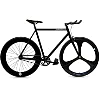 Bicicleta FIX 3 black. Monomarcha fixie / single speed. Talla 53