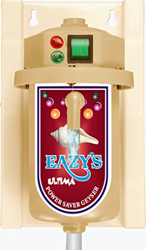 Eazy Ultima Instant Water Heater with power switch and auto cut off