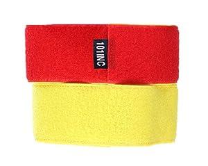 Brassard Scratch Reversible 2 Couleur Rouge Et Jaune 101 Inc 359832 Equipe Groupe Joueur Airsoft Jeu