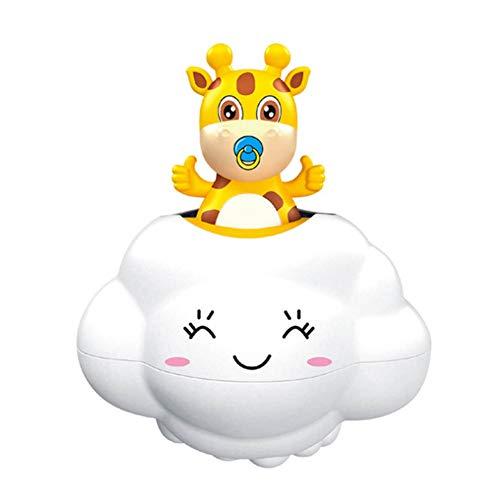 Baby-Bad-Spielzeug Deer Verstecken in Regen-Wolke Kinder Badezimmer Badewanne mit Wasserspielzeug Deer Dusche Badewanne Spielzeug für Kleinkinder Jungen Mädchen Kids Fun Badezeit