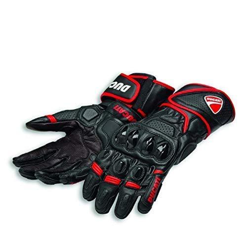 Ducati Speed Evo C1 Handschuhe aus Leder schwarz/rot Größe M