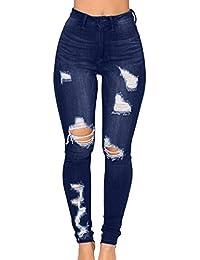 bcaead4914ba Suchergebnis auf Amazon.de für: high waist jeans zerrissen ...